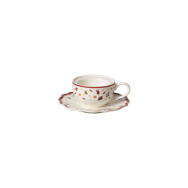 Toy's Delight Decoration Tea light holder coffee cup 9,8x9,8x4cm, , large