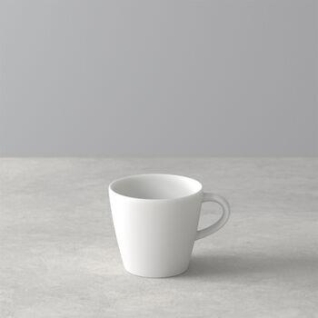 Manufacture Rock Blanc espresso cup, white, 8.5 x 6.5 x 6 cm