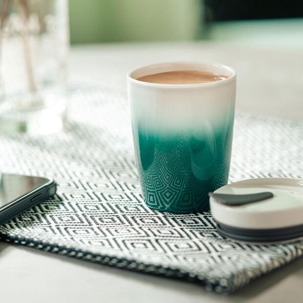 Travel coffee mug S green, , large