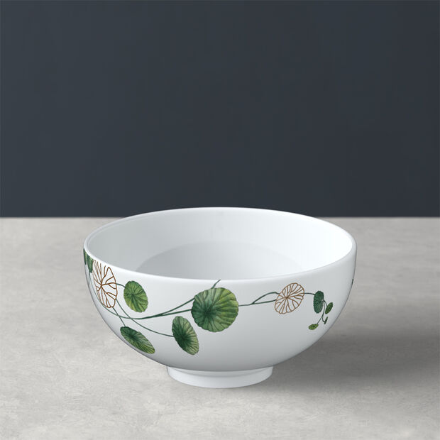 Avarua soup bowl, 480 ml, white/multicoloured, , large
