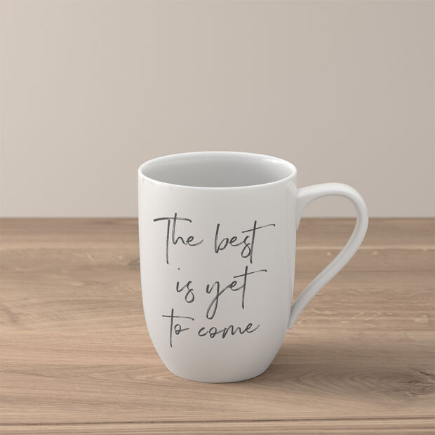 """Statement mug """"The best is yet to come"""", , large"""