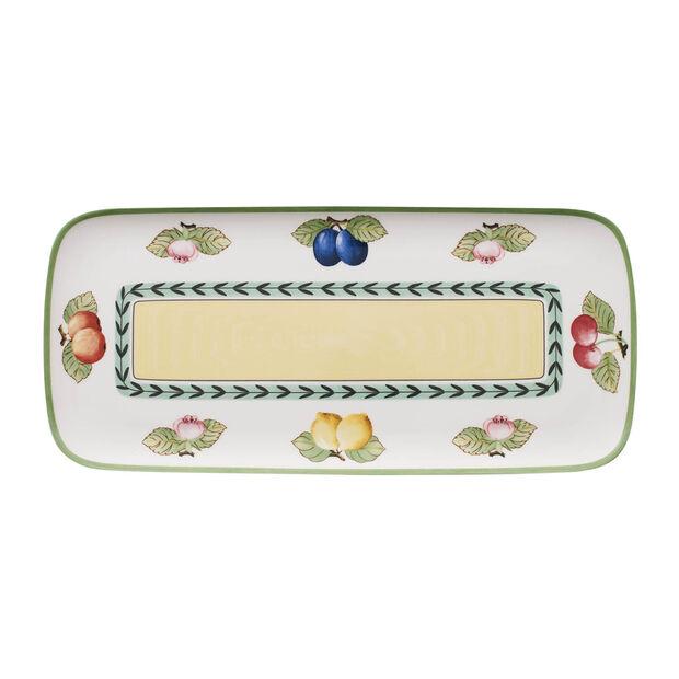 Charm & Breakfast French Garden Sandwich plate 35x16cm, , large