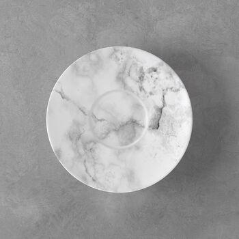 Marmory Saucer coffee cup white 16x16x2cm