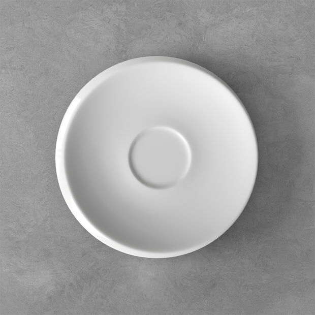 NewMoon coffee cup saucer, white, , large