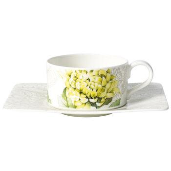 Quinsai Garden Tea cup & saucer 2pcs
