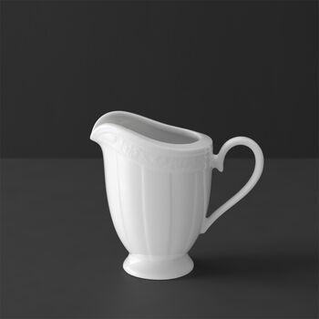 White Pearl milk jug 6 people