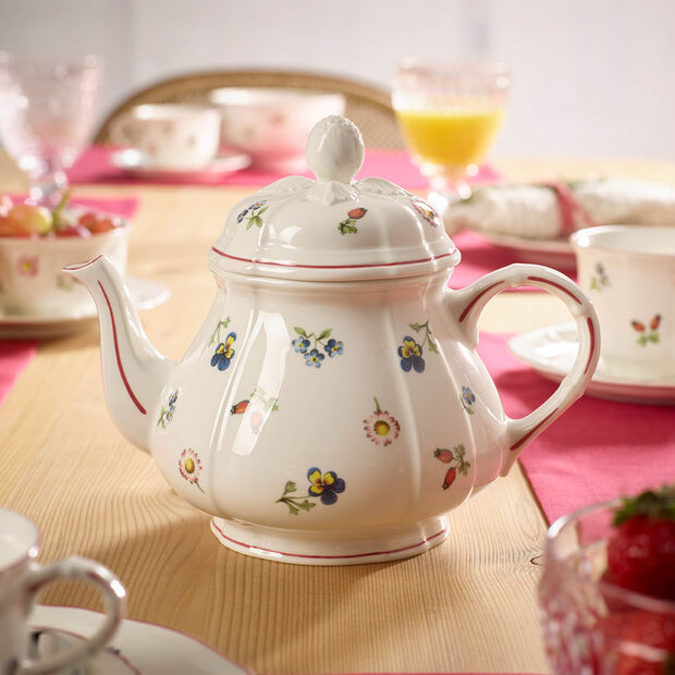 Petite Fleur teapot, , large