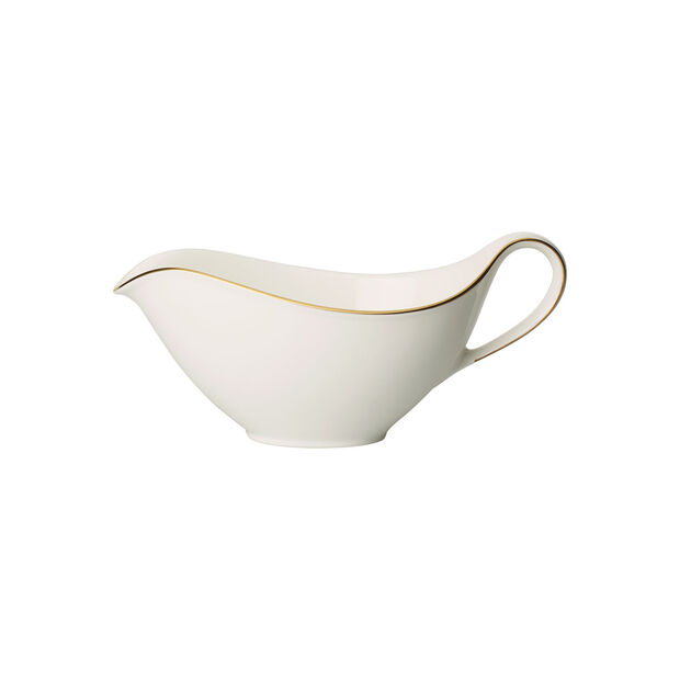 Anmut Gold sauce boat, white/gold, , large