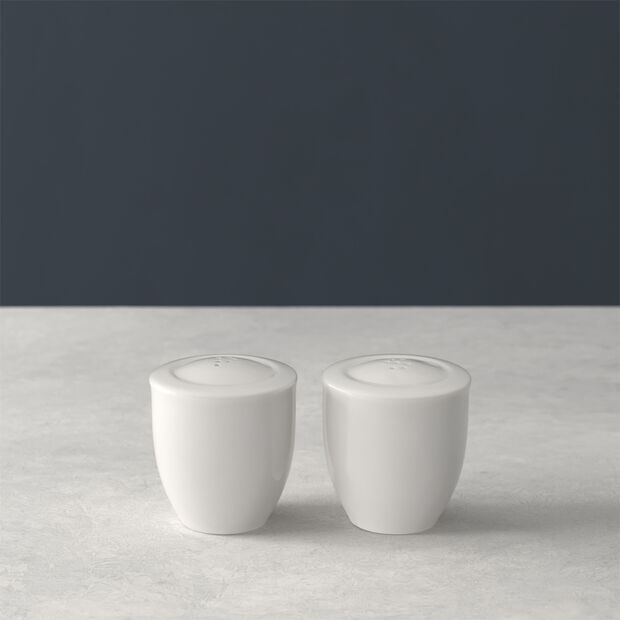 For Me salt and pepper shakers, white, 2 pieces, , large