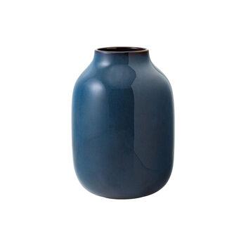 Lave Home shoulder vase, 15.5 x 15.5 x 22 cm, Bleu uni