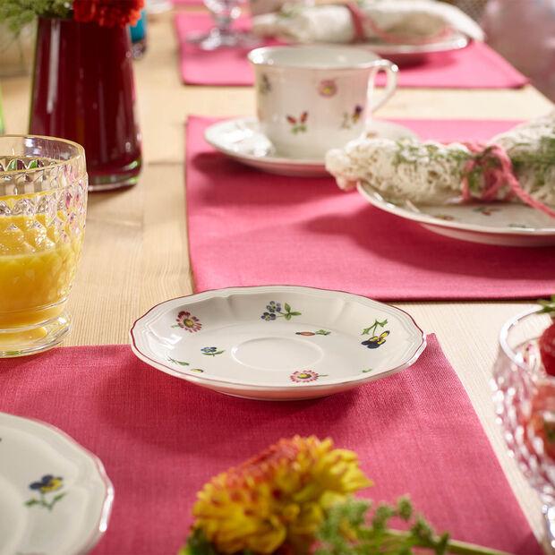Petite Fleur tea cup saucer, , large