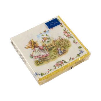 Spring Fantasy napkins, bunnies, 33 x 33 cm, 20 pieces