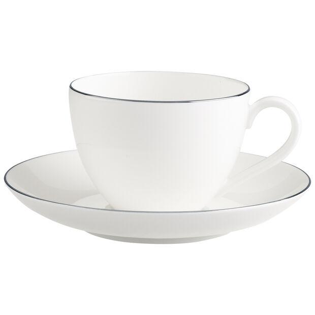 Anmut Platinum No.1 Coffee cup & saucer 2pcs, , large