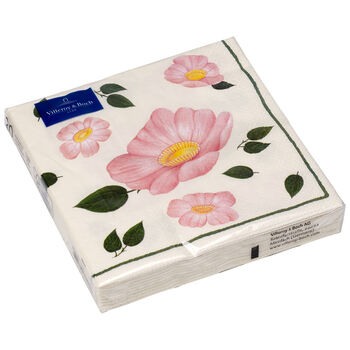 Paper Napkins Wild Rose Paper napkin, 20 pieces, 33x33cm