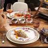 Artesano Provençal Lavender dinner plate with floral dècor, , large