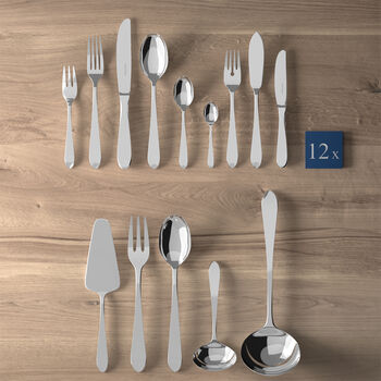 Blacksmith Lunch table cutlery 113 pieces