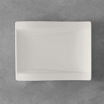 NewWave rectangular breakfast plate 26 x 20 cm