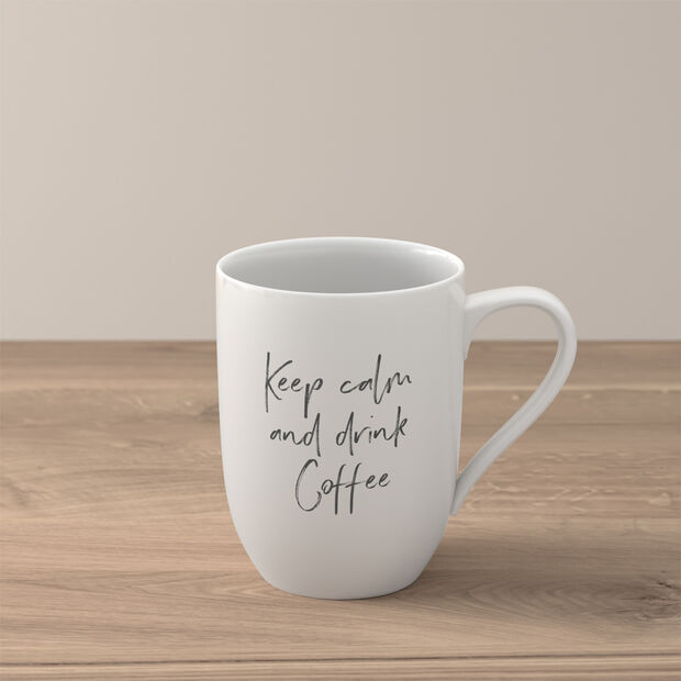 "Statement mug ""Keep calm and drink coffee"", , large"