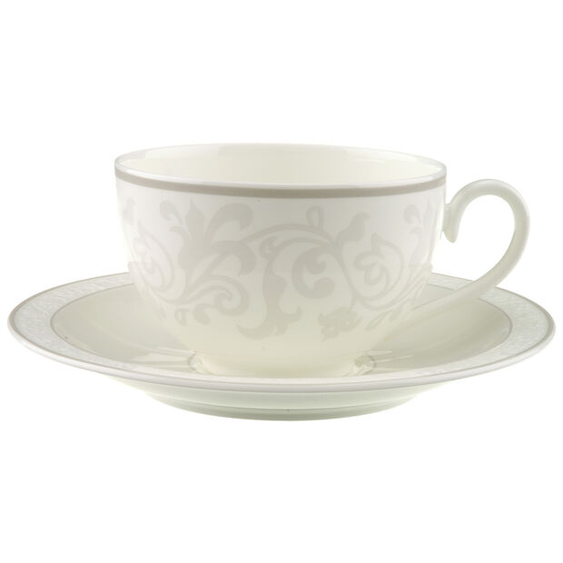 Gray Pearl Breakfast cup & saucer 2pcs, , large