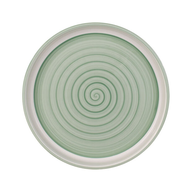 Clever Cooking Green round serving plate 30 cm, , large