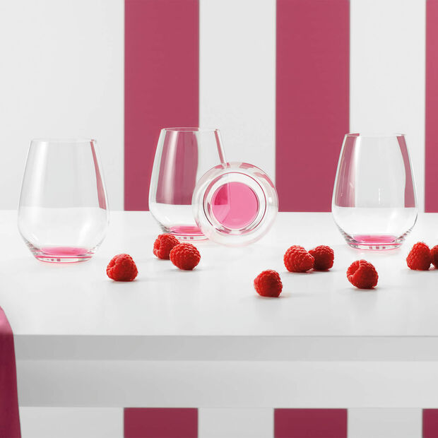Colourful Life Berry Fantasy cocktail/water glass set 4 pieces, , large
