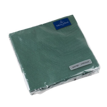 like.by Villeroy & Boch Paper Napkins it's my match green leaf Lunch, 20 pieces, 33 x 33 cm