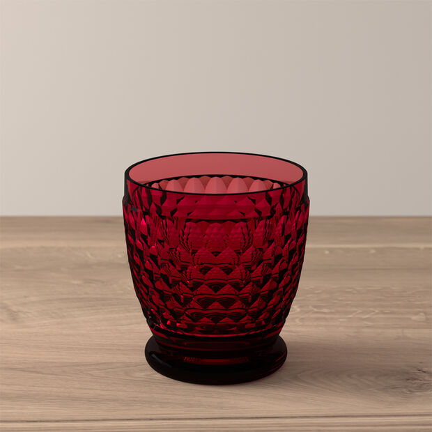 Boston Coloured Water/cocktail tumbler Red, , large