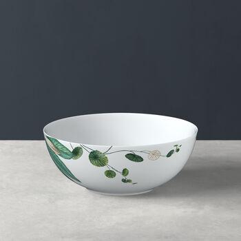 Avarua salad bowl, 23 cm, white/multicoloured