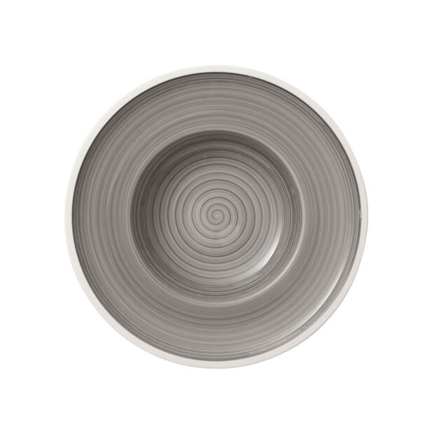 Manufacture gris Deep plate 25cm, , large