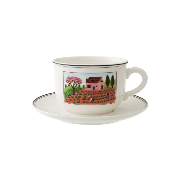 Design Naif Breakfast Cup Saucer 2pcs