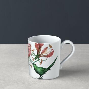 Avarua coffee mug, 300 ml, white/multicoloured