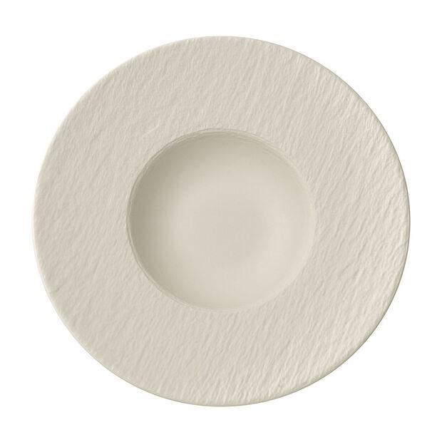 Manufacture Rock blanc Pasta plate 28x28x5cm, , large