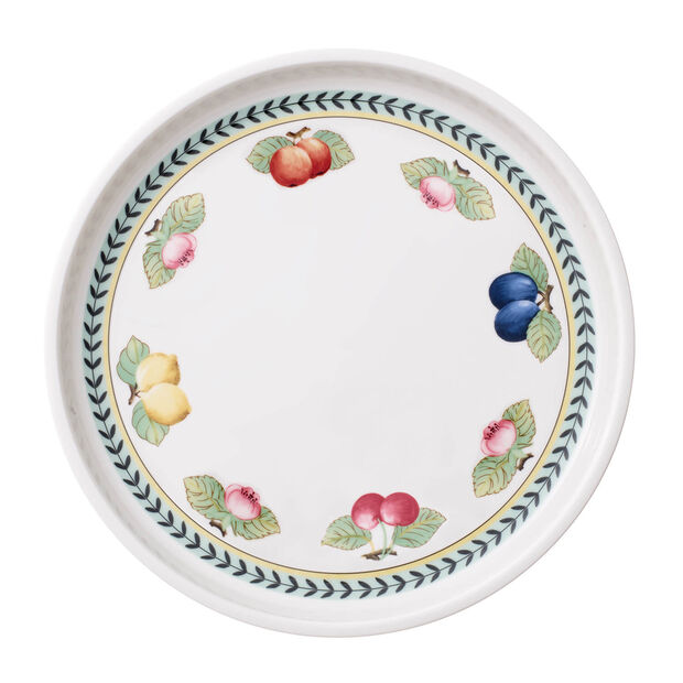 French Garden round serving plate 30 cm, , large