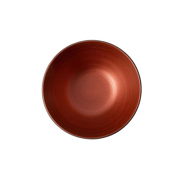 Manufacture Rock Glow bowl, copper/black, 14 x 14 x 7 cm, , large