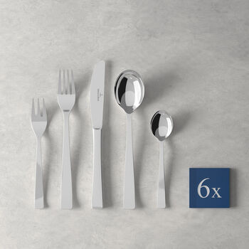 V&B Elisabeth table cutlery, 30 pieces, for 6 people