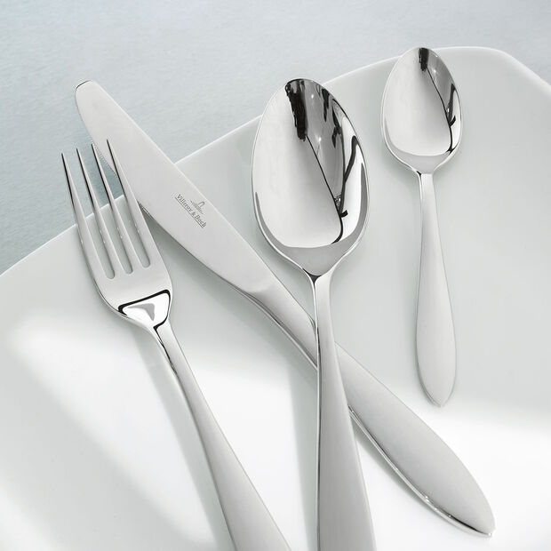 Arthur brushed cutlery set 24 pieces, , large