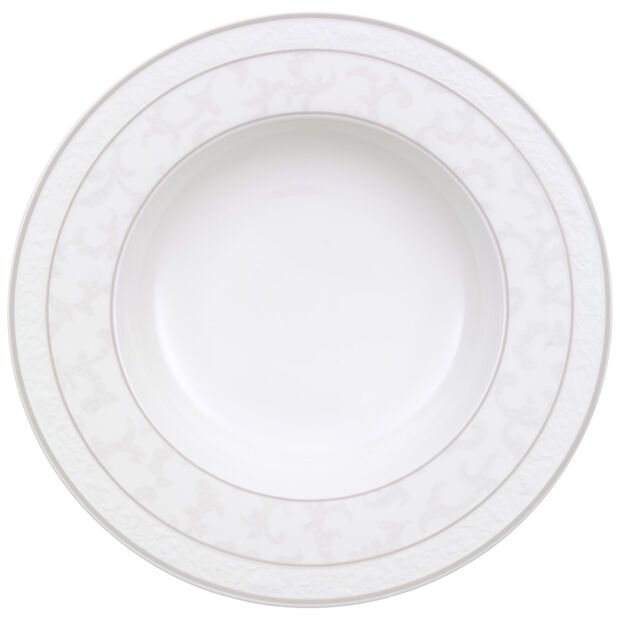 Gray Pearl soup plate, , large