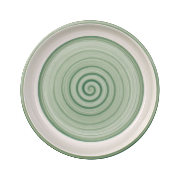 Clever Cooking Green round serving plate 17 cm, , large