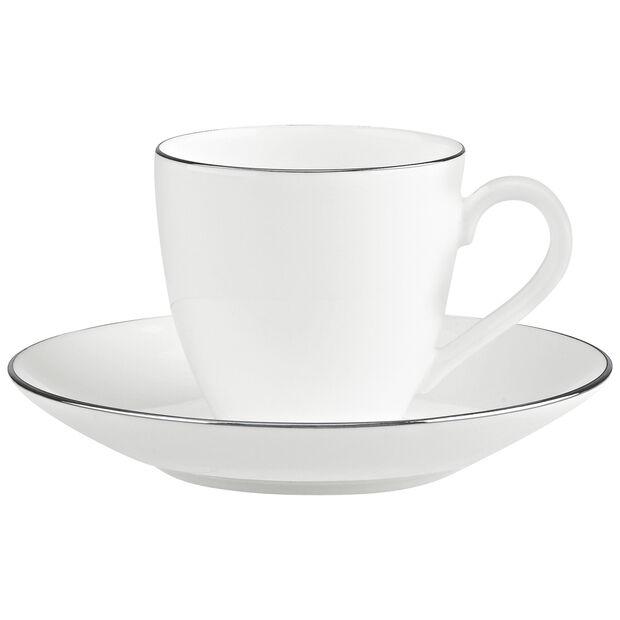 Anmut Platinum No.1 Espresso cup & saucer 2pcs, , large