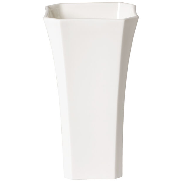 Classic Gifts White small vase 17 cm, , large