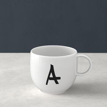 Letters Mug A 13x10x8cm