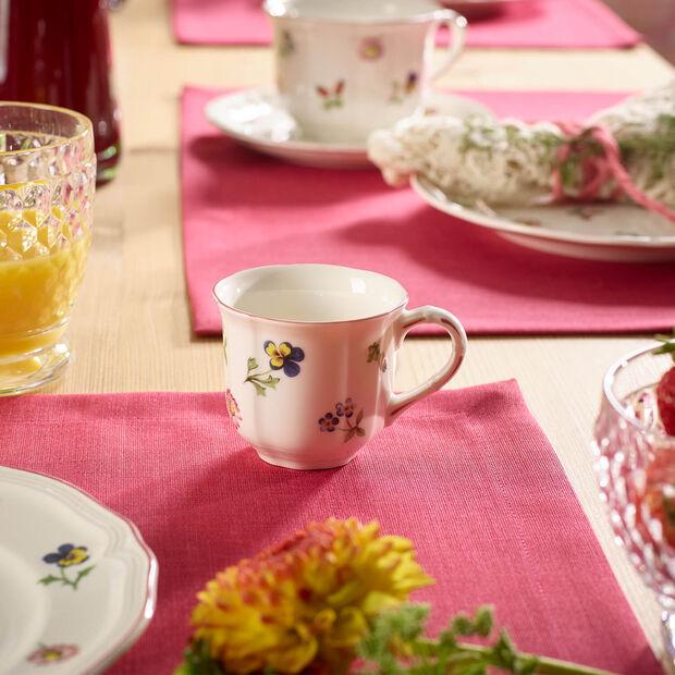 Petite Fleur mocha/espresso cup, , large