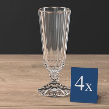 Opéra champagne flute 4-piece set