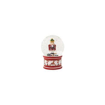 Christmas Toys Snow globe large, Nutcracker 13x13x17cm