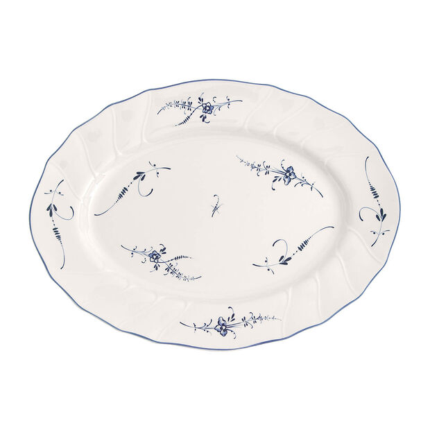 Old Luxembourg oval plate 36cm, , large