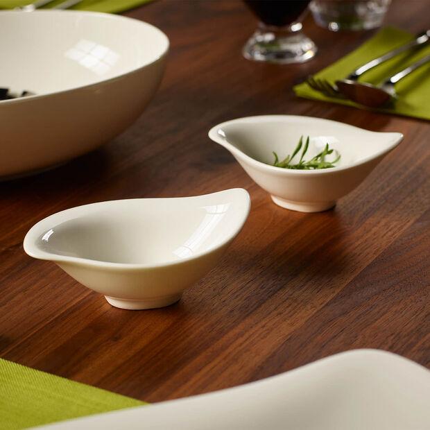 New Cottage Special Serve Salad dip bowl 12 x 8 cm, , large