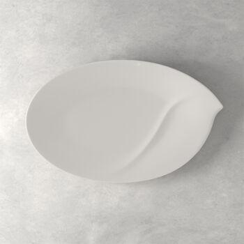 Flow oval plate 47 cm