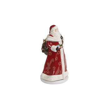 Christmas Toy's Memory Santa rotating, multicoloured, 17.5 x 20 x 34 cm