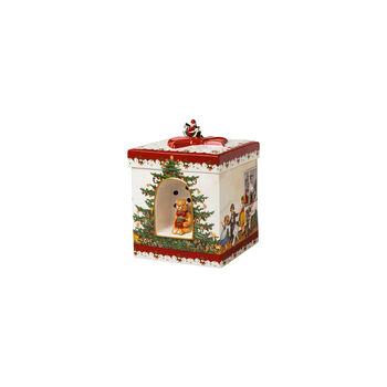 Christmas Toys gift box square, 2021 17x17x21,5 cm