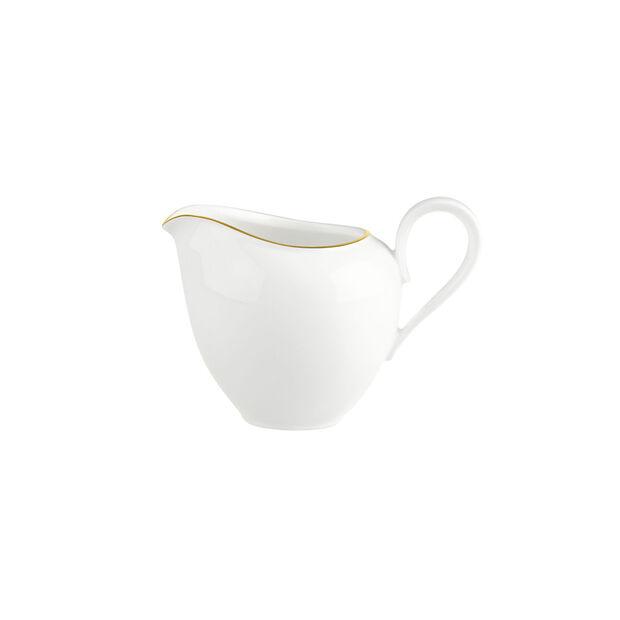Anmut Gold milk jug, 210 ml, white/gold, , large
